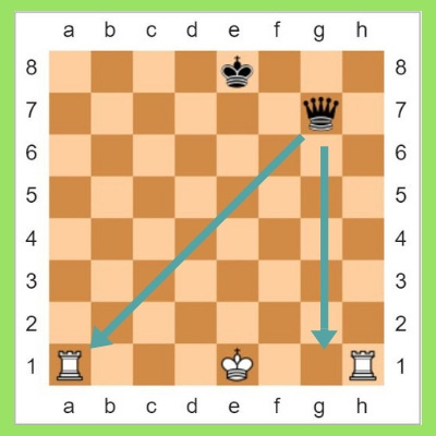 Castling rules of chess in hindi
