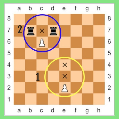 pawn rules in chess in hindi