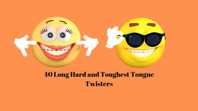 Long toughest hard tongue twisters