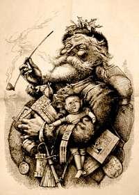 Santa history in hindi