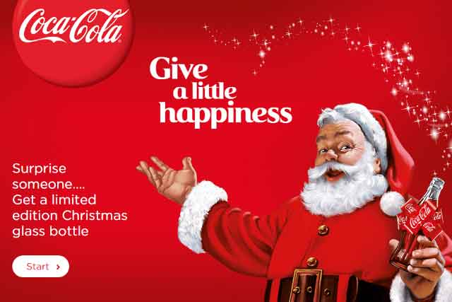 santa clause coca cola history in hindi