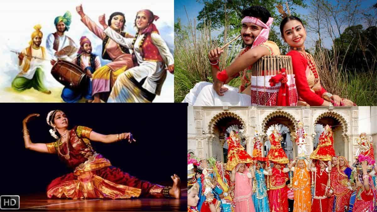 भारतीय लोक नृत्य की सूचि (राज्यों