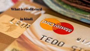 What is credit card in hindi
