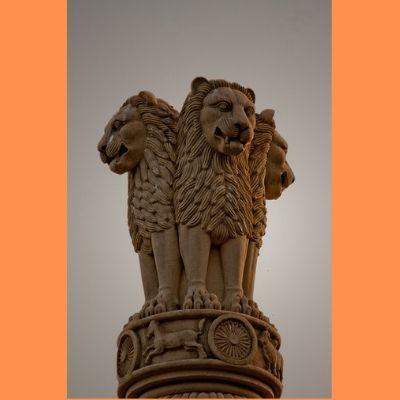 what is National emblem of india in hindi, भारत का राष्ट्रीय चिन्ह क्या है