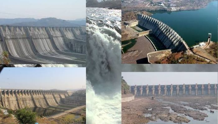 narmada river projects name list in hindi